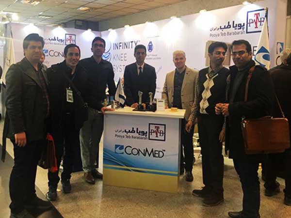 Attendance Pooya teb barabaran Company at the ORTHOBIT Congress 2019